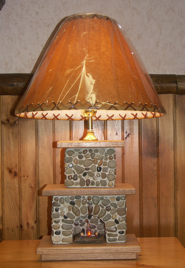 Large Fireplace Lamp