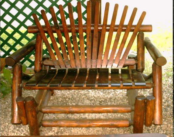 4′ Front Porch Glider