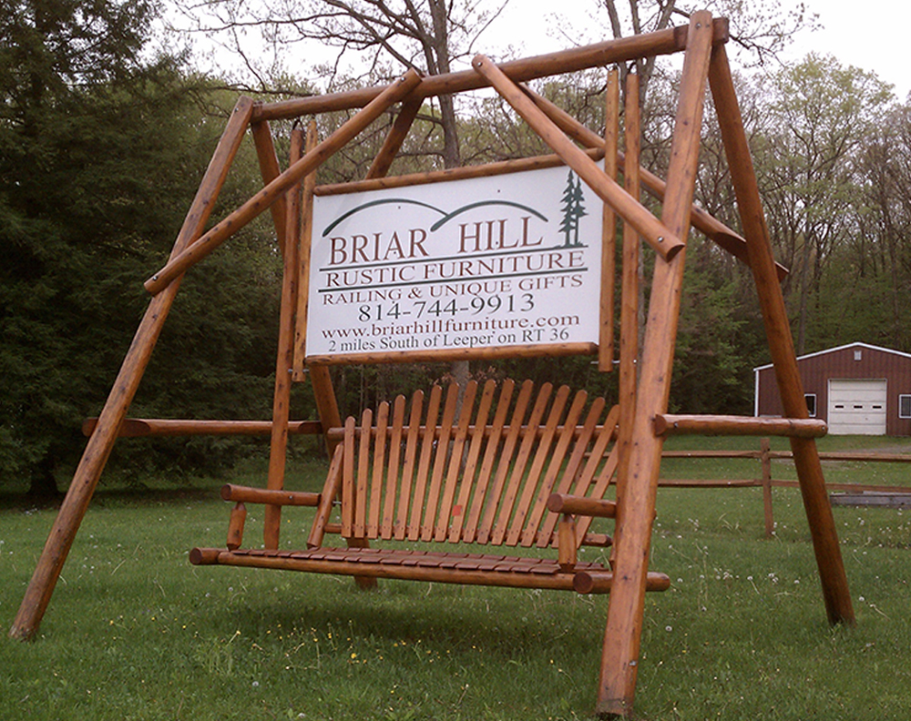 Outdoor Swings Briar Hill Furniture