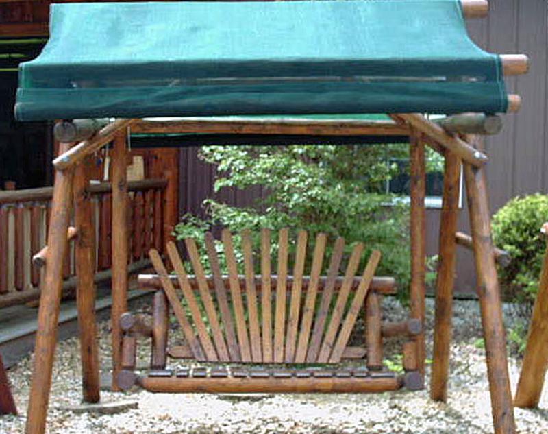 Dark Oak Canopy Swing